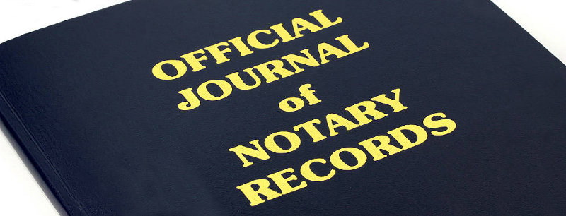 Notary public official journal